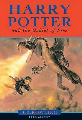 Harry Potter & the Goblet of Fire First Edition 1st Print, Errors Omnia Printing
