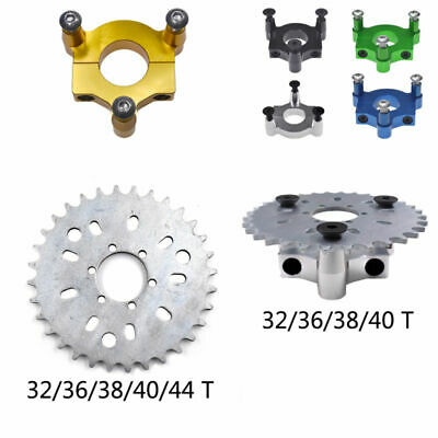 """32/36/38/40/44T Sprocket 1.5"""" Adapter For 80cc Motorized Bike 415 Chain"""