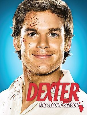 Dexter The Complete 2nd Second Season (DVD, 2008, 4-Disc Set) Movie Michael Hall