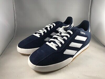 NEW ADIDAS PERFORMANCE Copa Super Cq1946 Navy White Mens Indoor ... 0d3689607