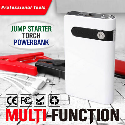AU Portable 20000mAh Car Jump Starter Vehicle Battery Charger Engine Power Bank
