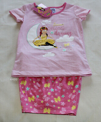 The Wiggles Emma Dreams Dancing Girls Pink Printed 2 Piece Pyjama Set Size 4 New