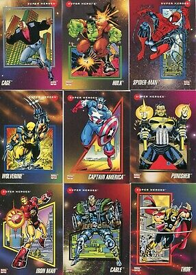 Impel 1992 Marvel Universe Series 3 Trading Card Singes * You Pick 5 * Mint