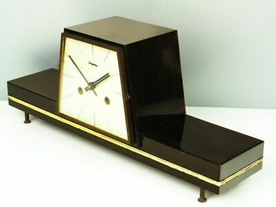 A Dream Later Art Deco  Hermle  Chiming Mantel Clock From 50´S
