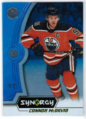 18/19 UD SYNERGY HOCKEY BASE/LEGENDS BLUE PARALLEL CARDS (1-40) U-Pick From List