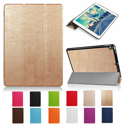 """For iPad Pro 12.9"""" 1st/2nd Gen 2017 Magnetic Smart Leather Stand Hard Case Cover"""