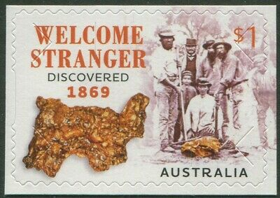 Welcome Stranger 150 Years 2019 - Mint Ex-Booklet Self-Adhesive (B67)