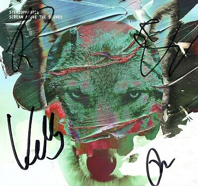 Fully Signed Stereophonics Hand Signed Autograph Cd Scream Above The Sounds New