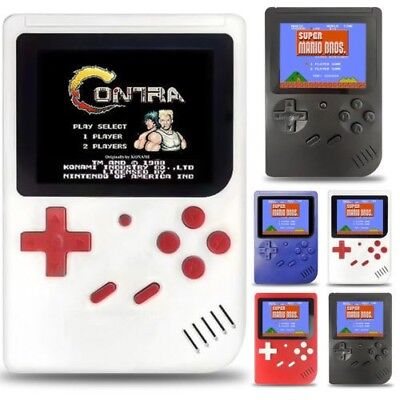 Retro Mini Handheld Video Game Console Gameboy Built-in 129/168/400 Classic Game