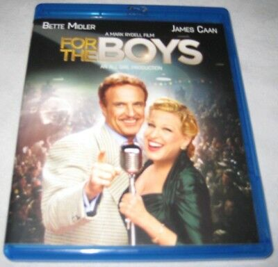 For the Boys Blu-ray Disc James Caan 1991 Bette Midler OOP USA Anchor Bay