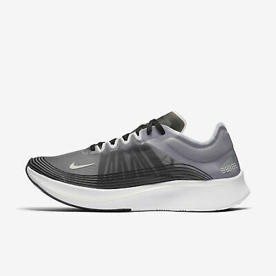 b5d373fc5f79 Nike Nikelab Zoom Fly SP Mens Size 11.5 Running Shoes Black White AJ9282 001
