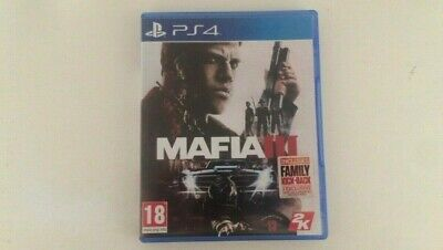 Mafia III (3) PlayStation 4 Fast Shipping & Excellent Condition!
