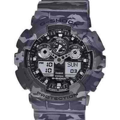 Casio G-Shock Camouflage Limited Edition GA100CM-8A Military Casual Men New