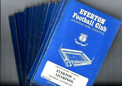 1967 EVERTON FC HOME FOOTBALL PROGRAMMES - Your Choice of Away Game
