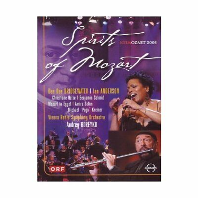 Sprits of Mozart, New DVDs