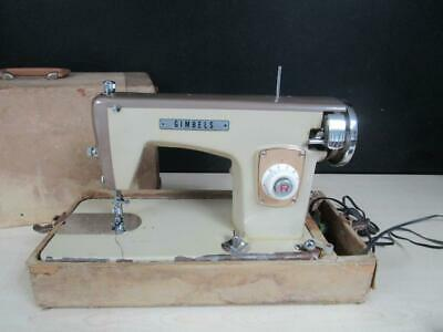 Vintage Gimbels De Luxe Sewing Machine Made In Japan