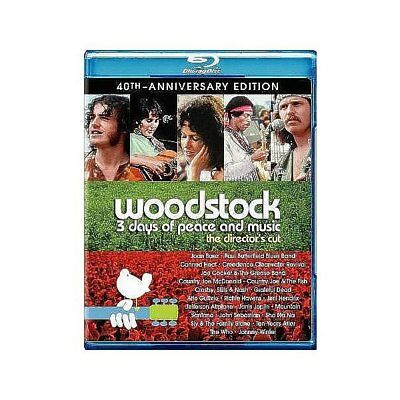 Woodstock: 3 Days of Peace and Music (40th Anniversary Edition) [Blu-ray], New D