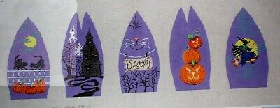 JJG Halloween Pudgie 3D Doll by Patti Mann HP Handpainted Needlepoint Canvas