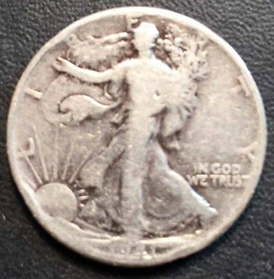 Walking Liberty Half Dollars , - 1941 - 90% Silver Coin