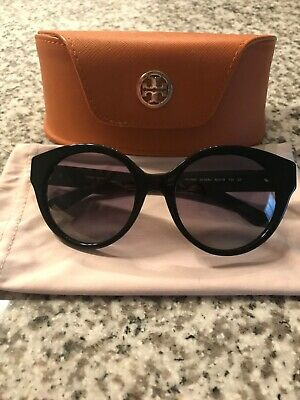 a1626bf8f2cd NEW TORY BURCH Black Oversized Square Sunglasses. Ty7126 Black ...