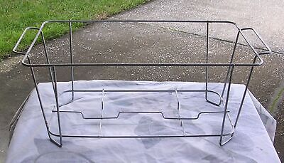 (4) Winco C-2F, Wire Chafer Stand for Full Size Aluminum Foil Trays