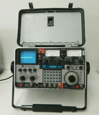 IFR FM/AM-1200S Communications Service Monitor Spectrum Analyzer