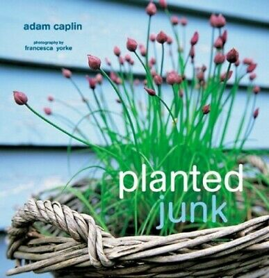 Planted Junk by Caplan, Adam Hardback Book The Cheap Fast Free Post