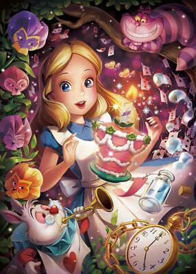 4eab5ec6b16 Tenyo Japan Jigsaw Puzzle D500-491 Disney In a Sparkling Dream Alice (500  Pcs