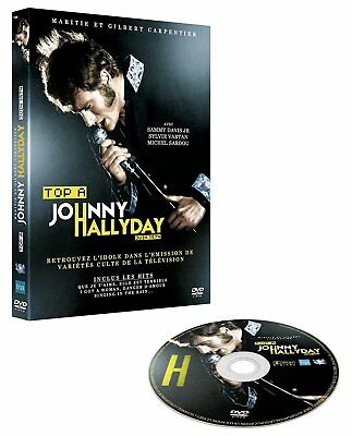 """DVD """"Top Has Johnny Hallyday"""" NEW BLISTER PACK"""