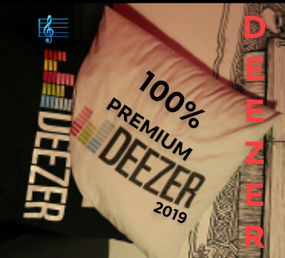 Deezer Premium Account 12 Months Subscription Instant Delivery-100% Private