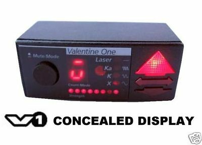 VALENTINE ONE CONCEALED DISPLAY ACCESSORY for V1 RADAR DETECTORS OEM NEW