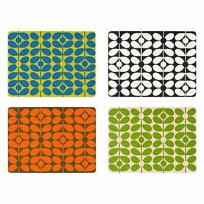 Orla Kiely 60S Stem Leaf Placemats Present Gift Boxed X 4