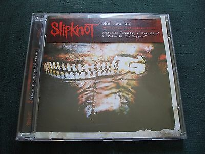 Slipknot - Vol.3 (The Subliminal Verses) CD.Disc Is In Excellent Condition.