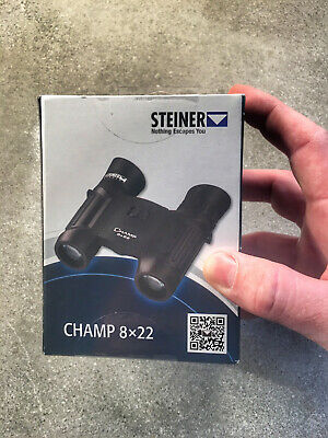Steiner 8x22 Champ Compact Binoculars -- Brand New Factory Sealed -- CLOSEOUT