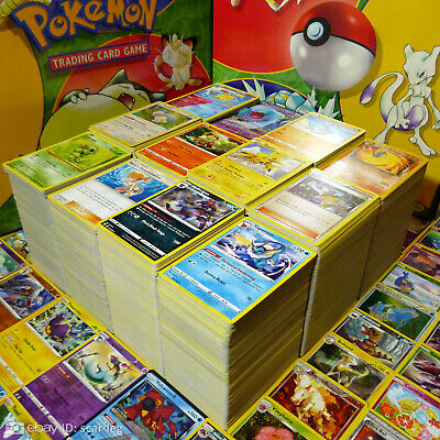 Pokemon Cards Bundle — 5x-100x Random Bulk Lots — 100% Genuine Cards UK Seller
