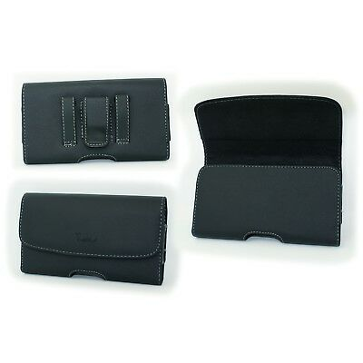 Case Belt Pouch Holster with Clip/Loop for ATT LG Phoenix 4 X210 X210APM