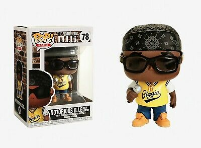 Funko Pop Rocks: The Notorious B.I.G. - Notorious B.I.G with Jersey #31554
