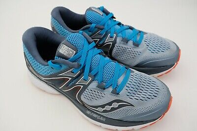 size 40 dc179 e480a Saucony Triumph ISO 3 Running Shoe Men s Grey Blue Red Size US 9 EU 42.5  Used