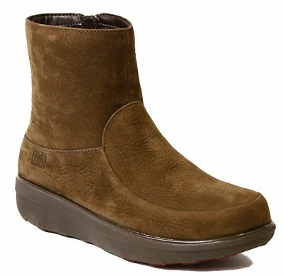 63329f9c2 NEW FITFLOP LOAFF Shorty Zip Boot