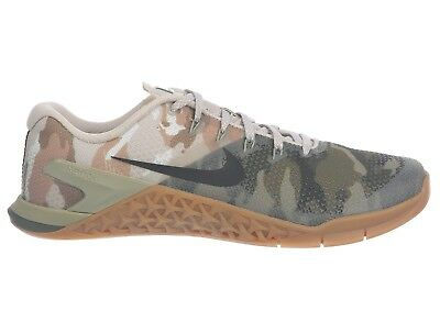 Nike Metcon 4 Camo Mens AH7453-300 Olive Canvas Cross Training Shoes Size 12 43a00ad69