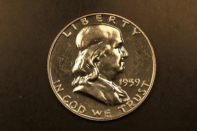 1959 Franklin silver 50c Proof #1218