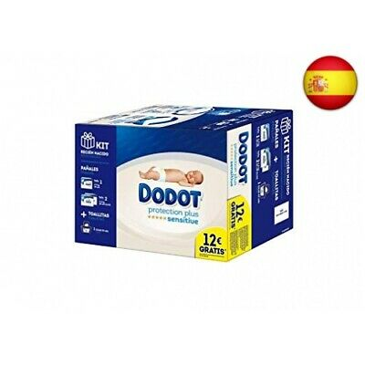 Dodot Protection Plus Sensitive Kit Recién Nacido (150)