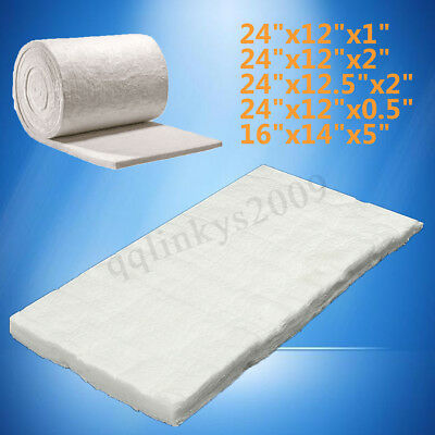 "AU 5 size 24""x12"" Ceramic Fiber Wool Blanket Thermal High Temperature Insulation"