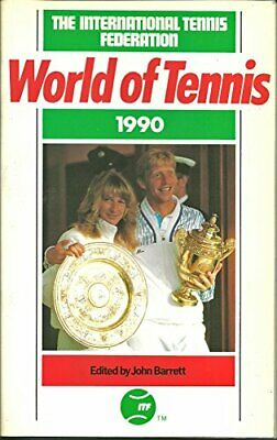 World of Tennis 1990 Paperback Book The Cheap Fast Free Post