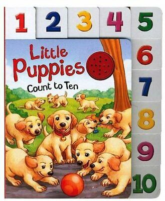 Little Puppies (10 Little Index) by Hinkler Books PTY Ltd Book The Cheap Fast
