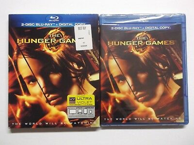 The Hunger Games (Blu-ray Disc, 2012, 2-Disc Set) BRAND NEW, Jennifer Lawrence