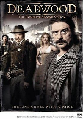 Deadwood Hbo Series Complete Second Season 2 Dvd 2006 6-Disc Set New Sealed