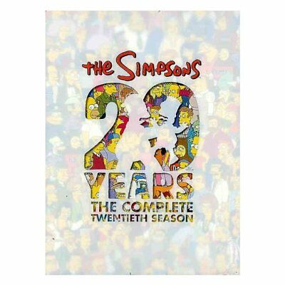 Simpsons: la Completa Twentieth Temporada, Dvds