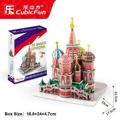 Cubic Fun 3D Puzzle C239H World Famous Building Jigsaws ST.Basil's Cathedral