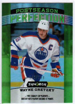 18/19 UD SYNERGY HOCKEY POSTSEASON PERFECTION GREEN CARDS PS-X U-Pick From List